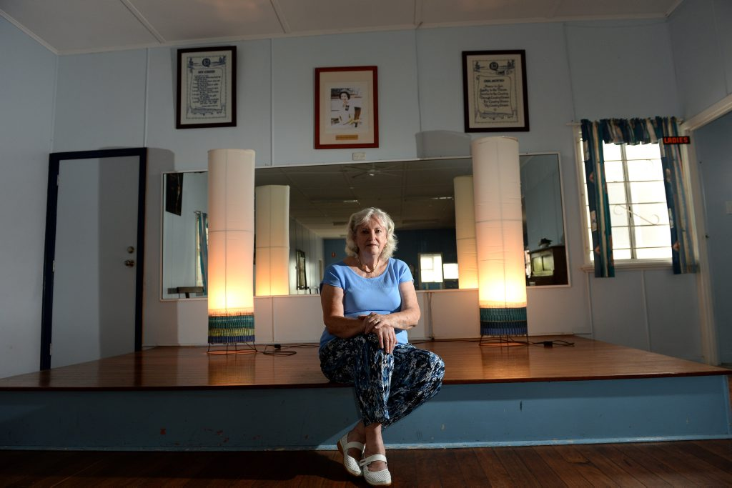 Liz Simister at the CWA building in Coolangatta. Photo: John Gass / Tweed Daily News