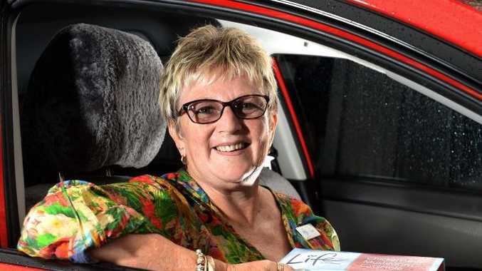 Judie Vernon is heading off for her Meals on Wheels run. Photo: John Gass / Tweed Daily News