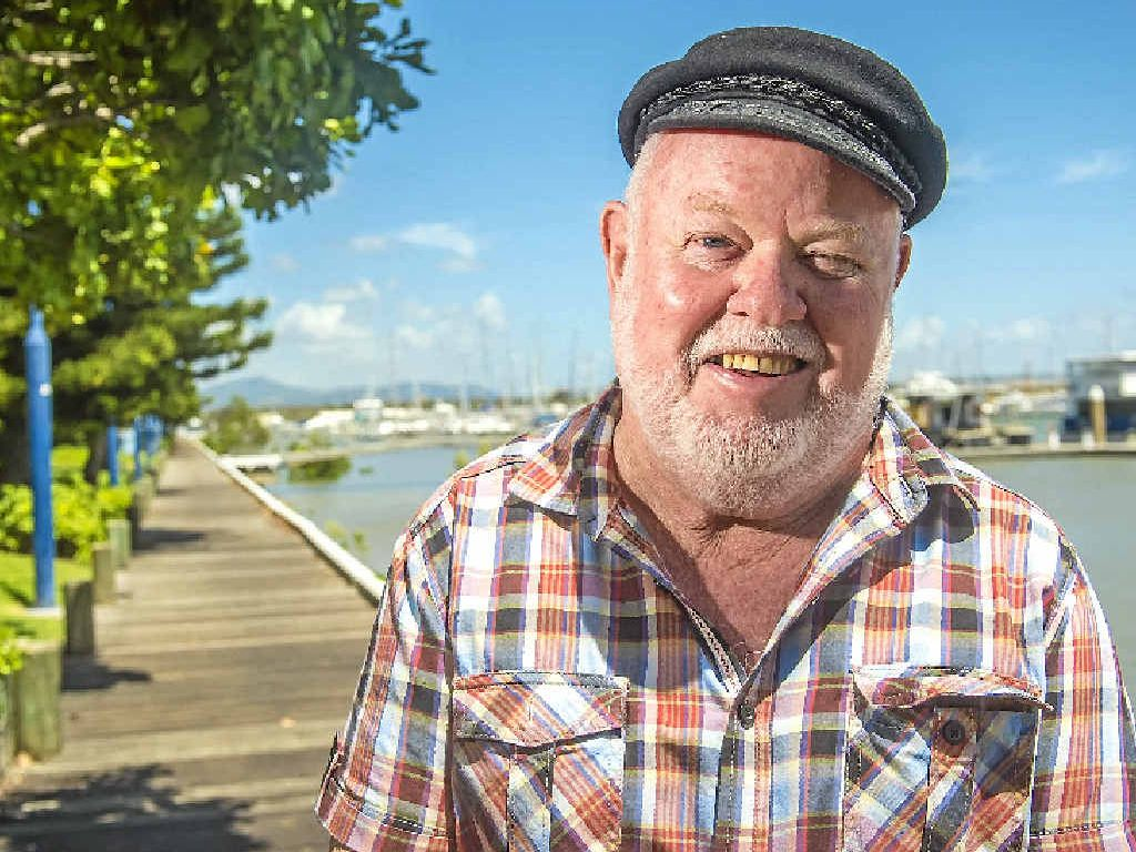 FINDING HIS FEET: Former Gladstone harbour master Mike Lutze is getting into the swing of retirement.