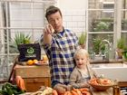 Jamie Oliver and son Buddy join the Odd Bunch drive