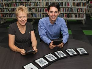 E-readers on loan at Fraser Coast Libraries