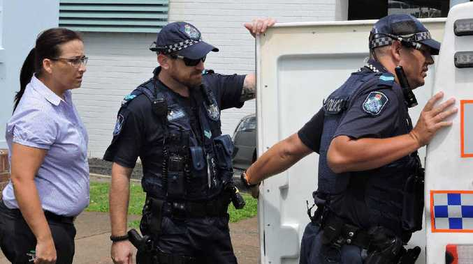 Two teenagers who allegedly stole mobile phones and other items from a bag at the CQU city campus were tracked to the Queensland Country Women's Association building on Gordon St. One suspect was arrested but another evaded police.