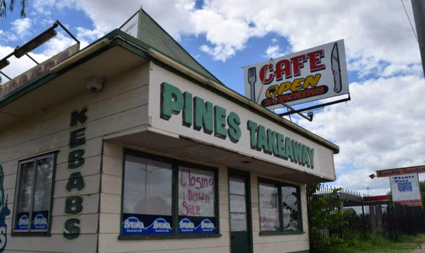 CLOSING DOWN: The Pines Takeaway Emerald has closed its doors for the final time.