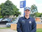 ON THE JOB: Gatton police station first-year Constable Drew Cameron.