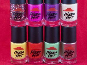 Pizza Hut releases nail polish range for Valentine's Day