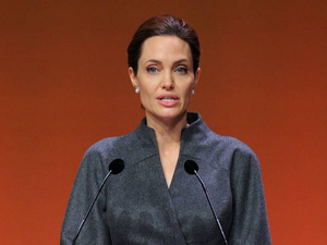 Angelina Jolie opens war rape centre in London