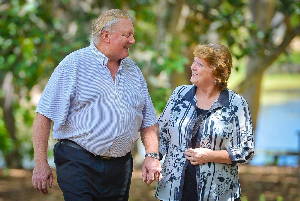 John and Liz Cunningham.