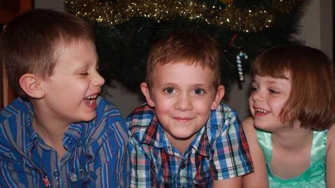 Kristy Stark says: I love my three babies Brayden, Thomas and Charlise.