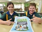 Peyton Benecke and Benjamin McGrath from Star of the Sea Catholic Primary School are hoping to win the classroom makeover.