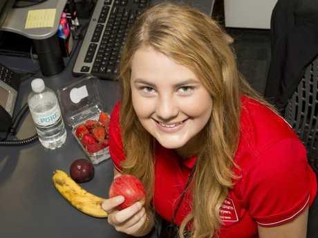 Charlotte Logan is saying goodbye to junk food for FebFast.