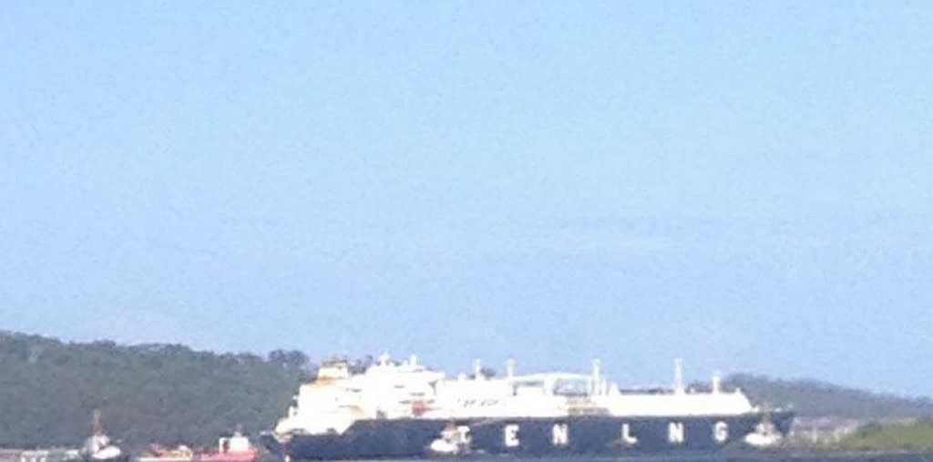 CLAIMS an LNG tanker has run aground near Curtis Island are false.