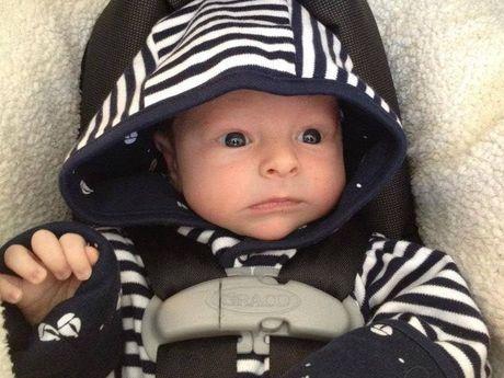 This is Jennifer Hibben-White's son, Griffin.