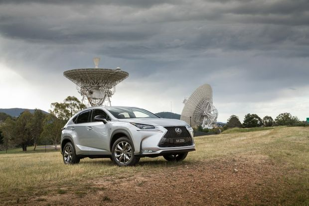 The new Lexus NX 200t.