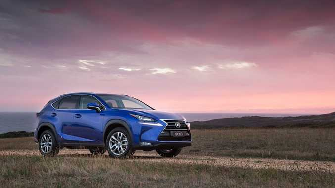 The Lexus NX 200t.
