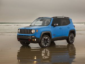 Jeep Renegade is a compact SUV packed with ability