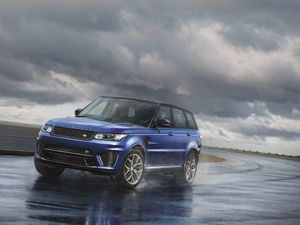Supercharged dynamics in $218,500 Range Rover Sport SRV