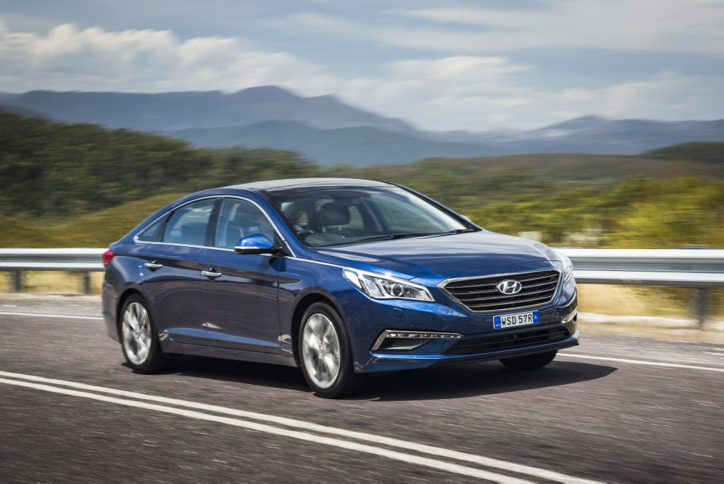The 2015 Hyundai Sonata Premium.