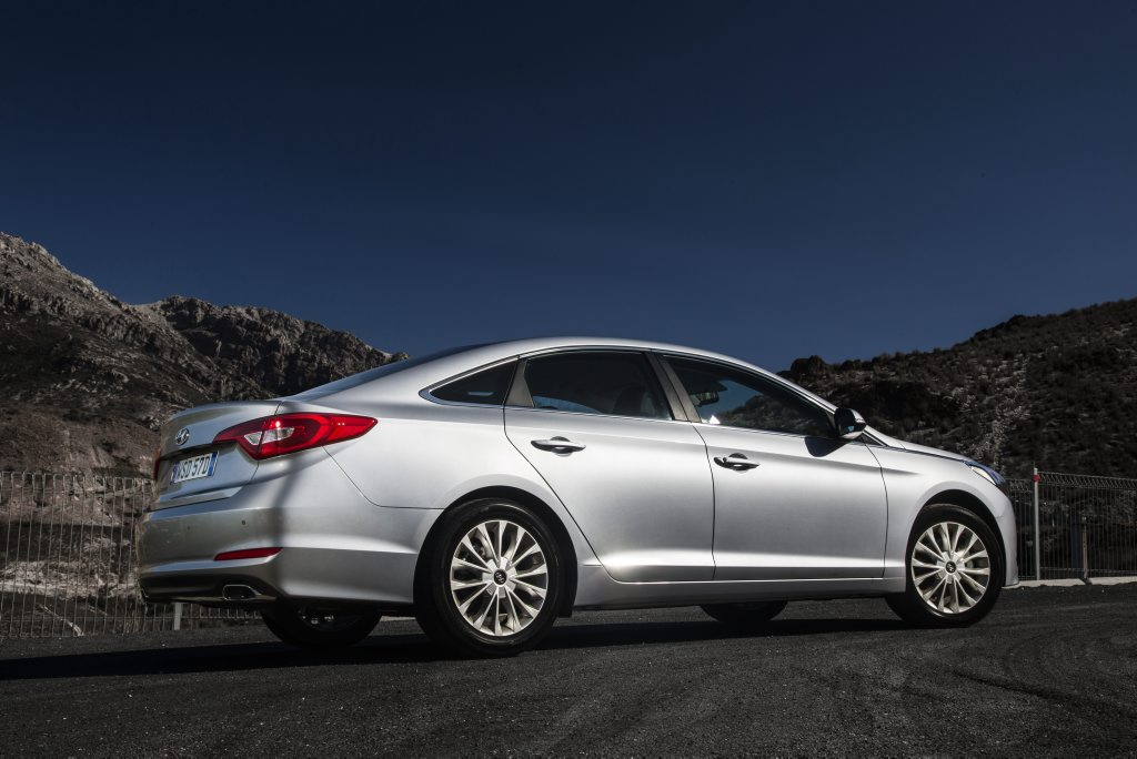 The 2015 Hyundai Sonata Active.