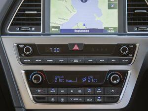 The 2015 Hyundai Sonata.