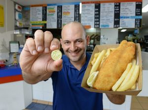 Takeaway lures customers with offer of $1 for fish and chips