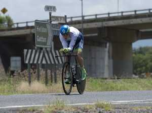 Michael Hepburn on his Oceania time trial win