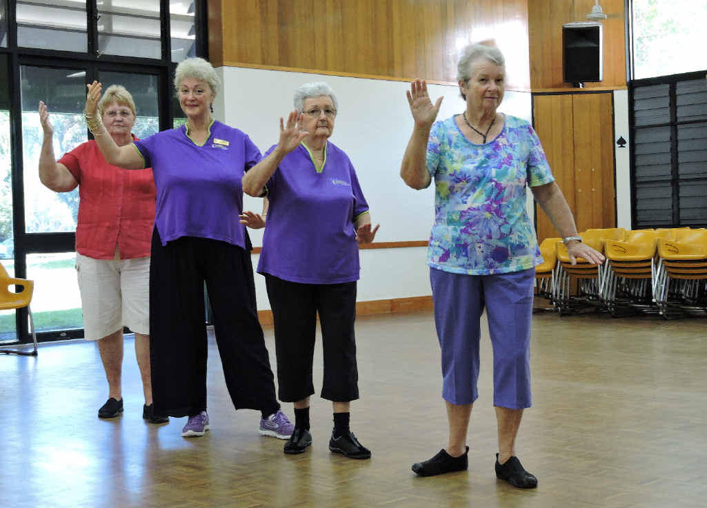 """""""I always say that Tai Chi is for everyone,"""" Dawn Ruffle."""