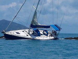 Hidden snag ends idyllic sail