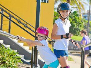 Juniors skate in for roller derby fun