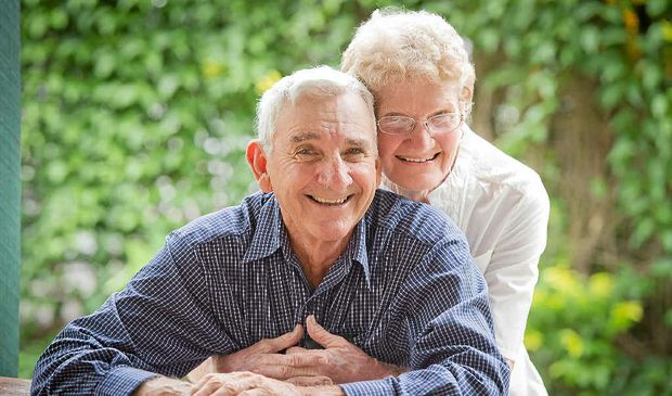 46 years of marriage and just as in love as ever – Jack and Von Ryan.
