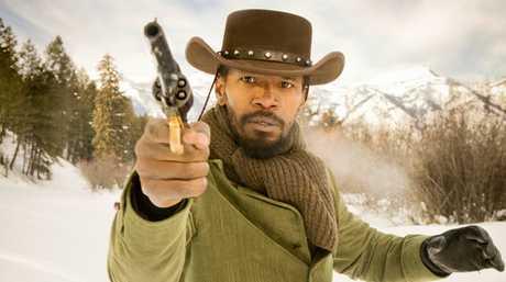 Jamie Foxx stars in the movie Django Unchained.
