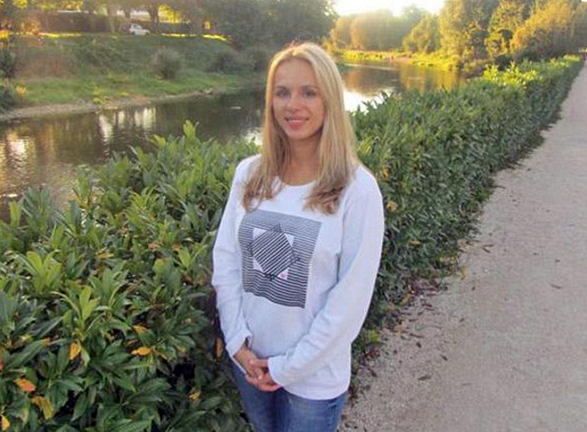 Yevgenia Sviridenko  is believed to have been scrolling through the Russian version of Facebook when she died