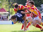 Group 2 League Nines at Geoff King Motors Oval. Open Grades. Bellingen vs Coffs Harbour. Photo: Gemima Harvey/Coffs Coast Advocate