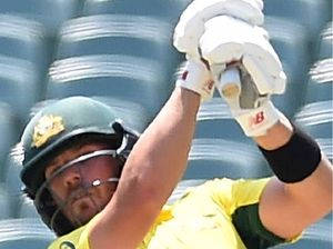 Finch's quick ton propels Australia to opening win