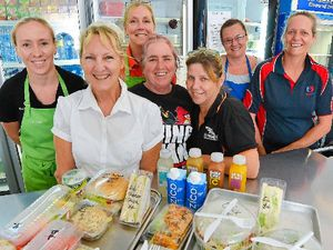Gladstone State High tuckshop could feed a small town
