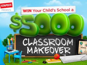 We're giving away a $5000 classroom makeover