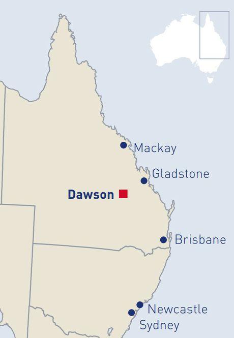 Dawson Coal Mine.