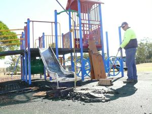 "Quarter of Valley parks ""unserviceable"""