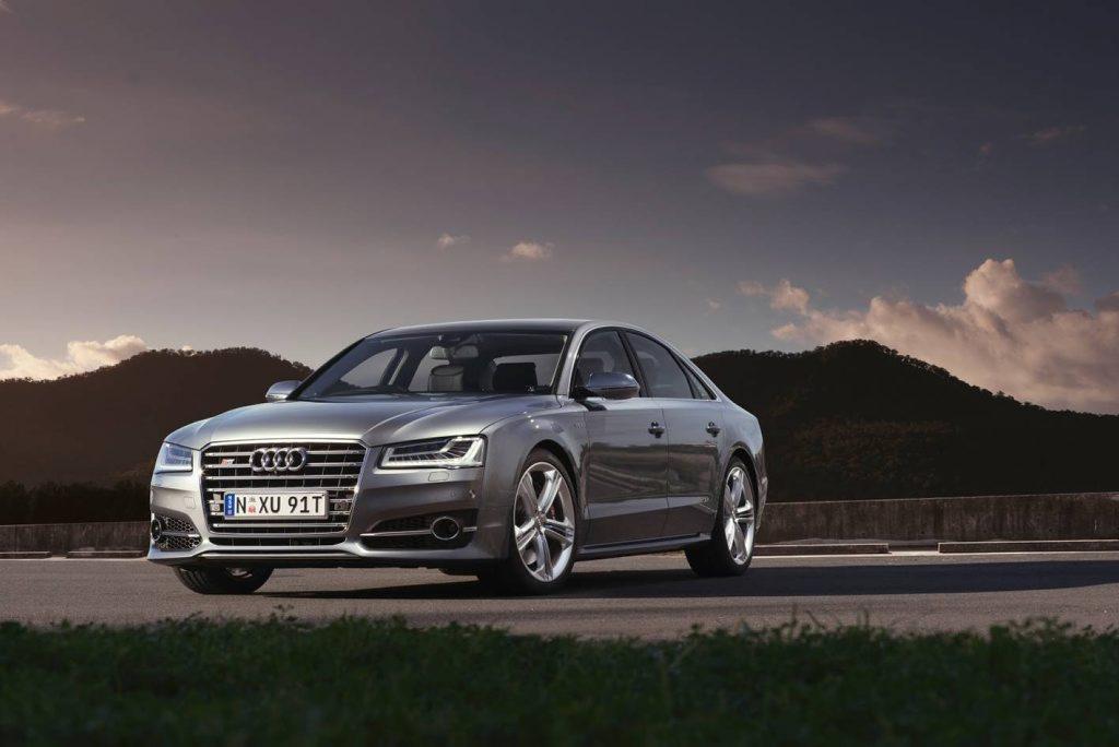 The Audi S8.