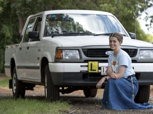 Toowoomba learner driver says thank you