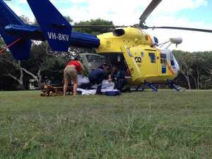Bundaberg RACQ CareFlight flys to aid of tourist
