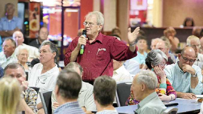 CONCERNS: SPAR owner Bob Little was among those questioning issues surrounding the IGA supermerket development application for Maclean. PHOTO: ADAM HOURIGAN