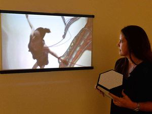 Art exhibition allows the viewer to take control