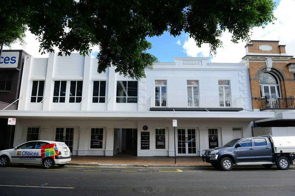 Part of the Circa 160 development and renovation of the former Big Whites building. Photo: David Nielsen / The Queensland Times