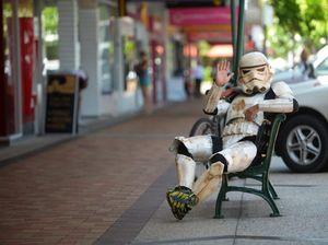 Fundraising Stormtrooper to visit Hervey Bay on Thursday