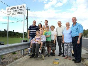 Bridge honour for Livingstone
