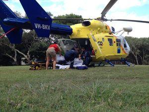 Tourist hurt when vehicle hits tree on Fraser Island