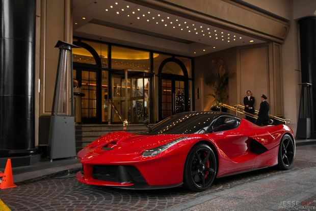 The LaFerrari can accelerate from 0-100kmh in less than 2.9 seconds, 0-200 kilometres per hour in under seven seconds