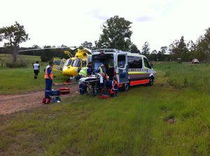 Chopper tasked to Whiporie crash