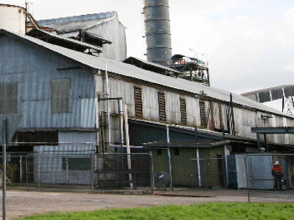 Plane Creek Sugar Mill.