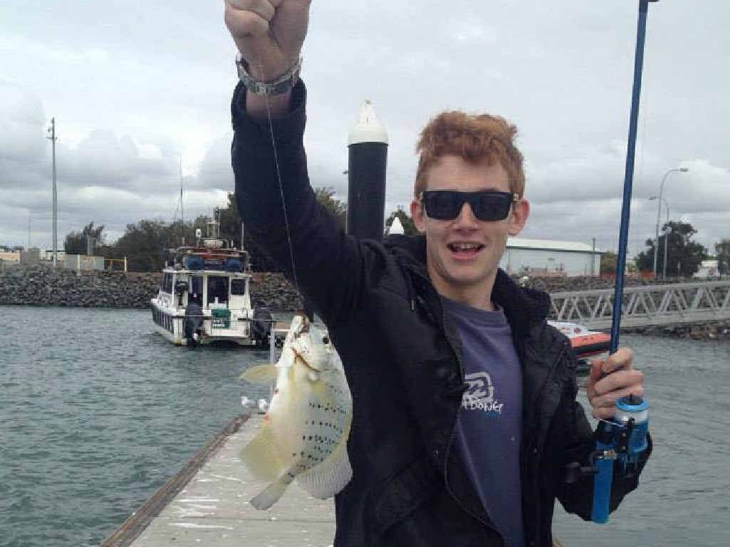 HOOKED ON GLADSTONE: Ethan Costello is loving his new home right here in town.